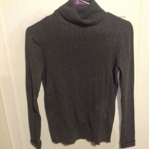 Talbots Pure Cashmere Sweater Pull Over Cowl Neck